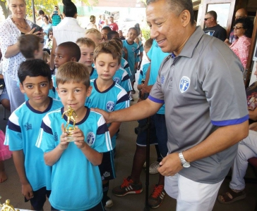Little League Prize Giving - Nov 2015