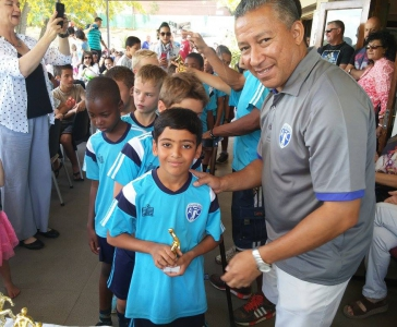 Little League Prize Giving - Nov 2015